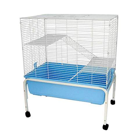 YML 3 Level Indoor Blue Ferret Cage With Stand
