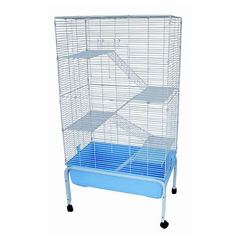 YML 5 Level Blue Ferret Cage With Stand
