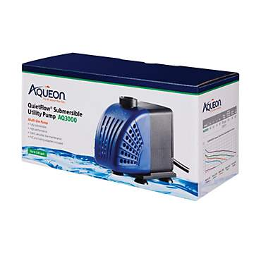 Aqueon QuietFlow AQ3000 Submersible Utility Pump