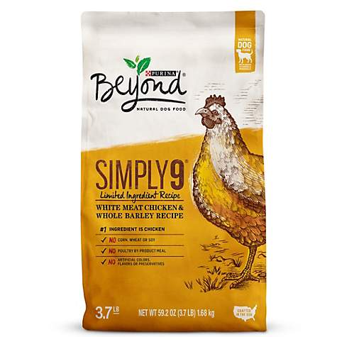 Purina Beyond Simply 9 White Meat Chicken & Whole Barley Recipe Adult Dry Dog Food