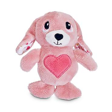 Love My Pup My Bunny Valentine Plush Dog Toy