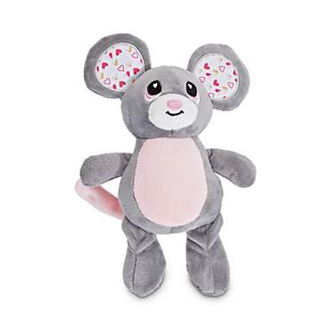Love My Pup Mouse Plush Dog Toy