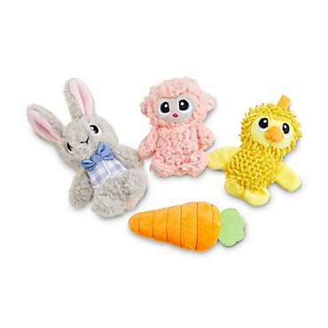 Leaps & Bounds Easter Pal Plush Dog Toy in Assorted Styles