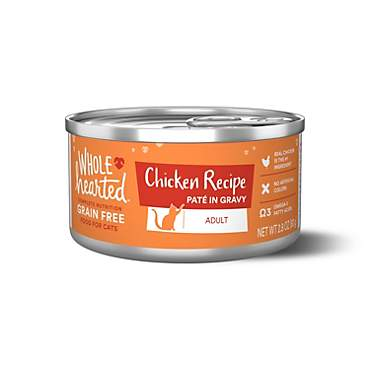 WholeHearted Grain Free Chicken Recipe Pate Adult Wet Cat Food
