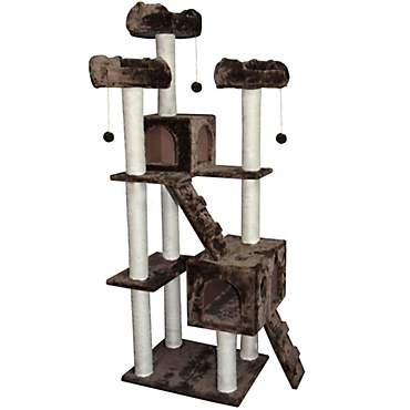 Kitty Mansions Bel Air Mocha Cat Tree