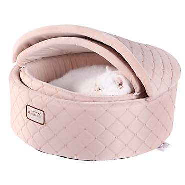 Armarkat Canopy Cat Bed in Apricot