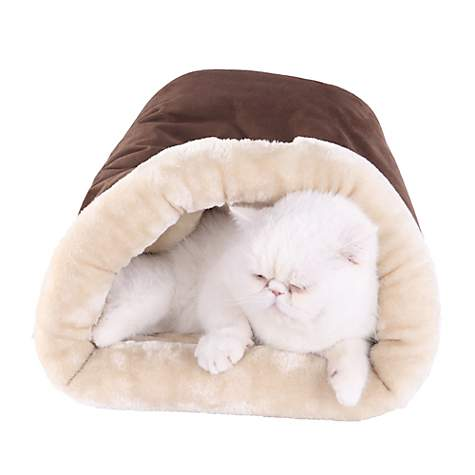 Armarkat Hideaway Cat Bed in Mocha