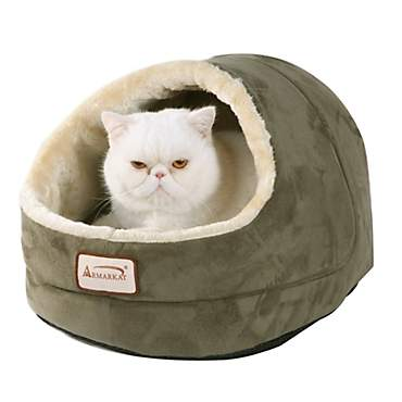 Armarkat Cave Cat Bed in Sage Green