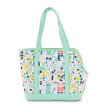 Oh Joy! Oh How Chic! Geometric Mint Pet Tote