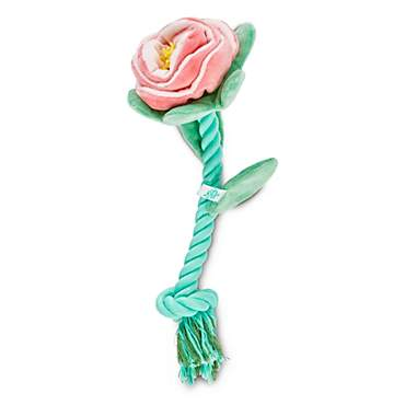 Oh Joy! Oh What Fun! Floral Rope Dog Toy