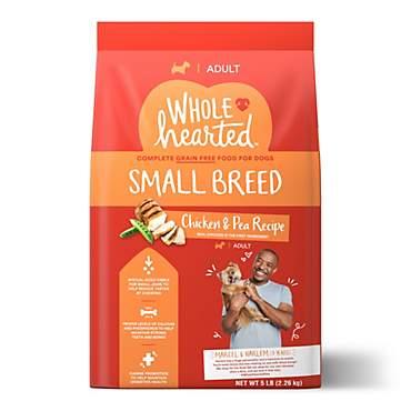 Wholehearted Grain Free Small Breed Chicken And Pea Recipe