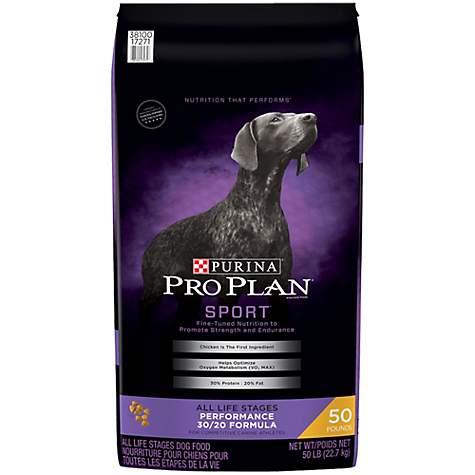 Purina Pro Plan Sport Performance 30 20 Formula Dry Dog Food 50 Lbs
