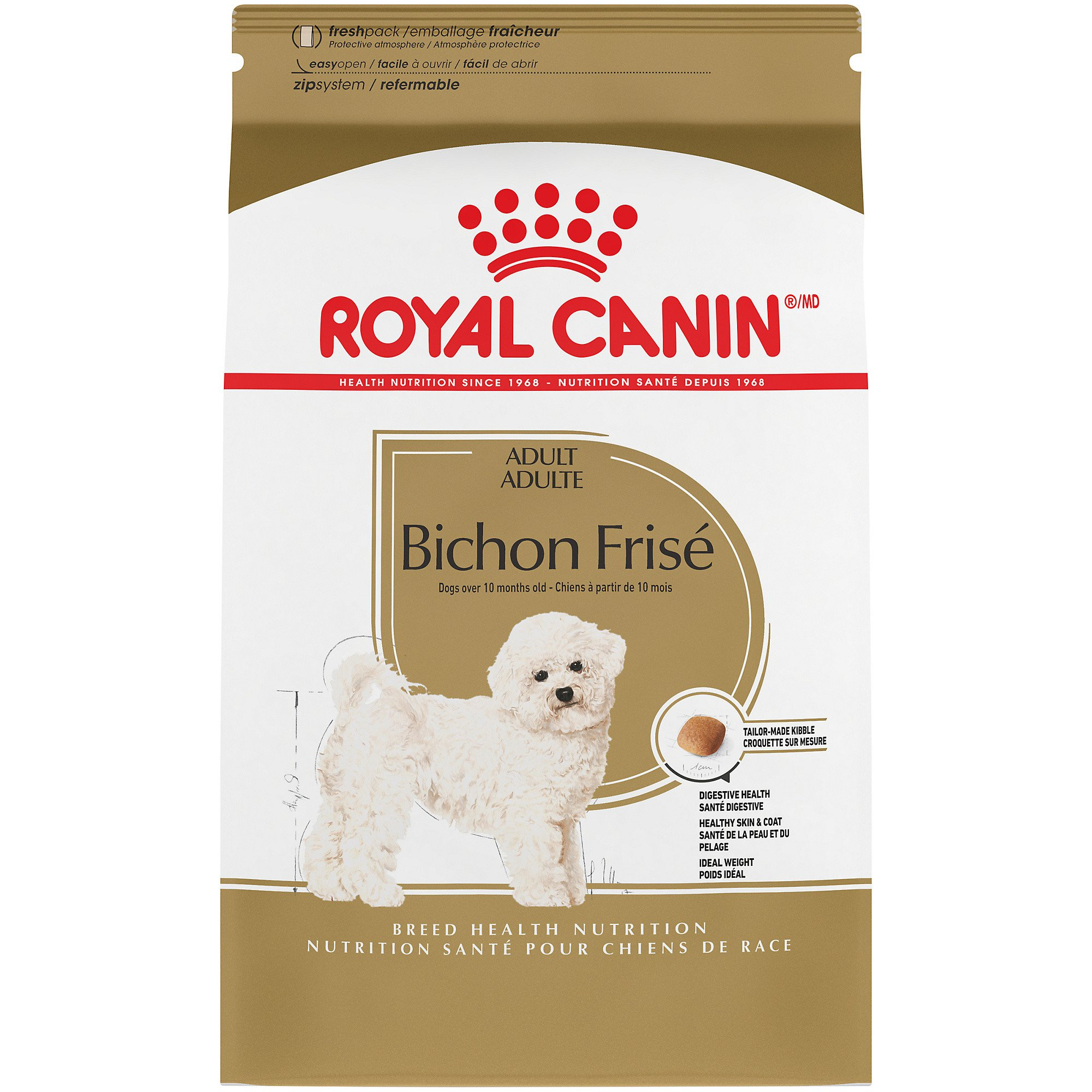 Royal Canin Breed Health Nutrition Bichon Frise Adult Dry Dog Food | Petco
