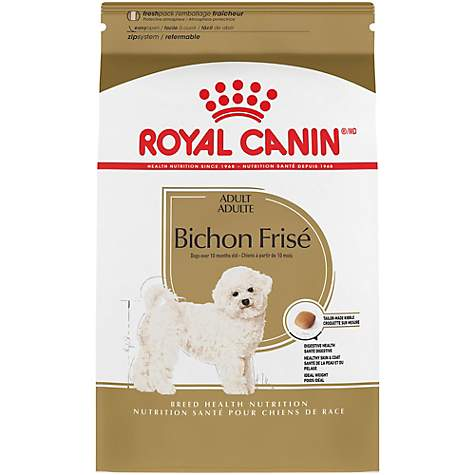 Royal Canin Breed Health Nutrition Bichon Frise Adult Dry Dog Food, 10 lbs