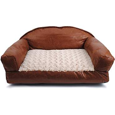 Dallas Manufacturing Brown Sofa Dog Bed