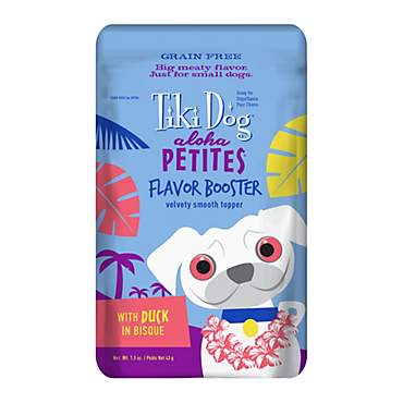 Tiki Dog Aloha Petites Duck in Bisque Flavor Booster Wet Dog Food