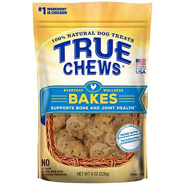 True Chews Everyday Wellness Bakes Supports Bone and Joint Health Dog Treats