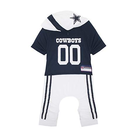 85f62da946a Pets First Dallas Cowboys Team Uniform Onesi for Dogs. Roll over image to  zoom