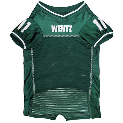 outlet store a3a29 3961a Pets First Carson Wentz Jersey for Dogs, X-Large