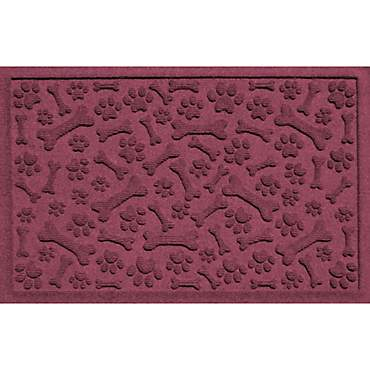 Bungalow Flooring Paws & Bones Bordeaux Dog Mat