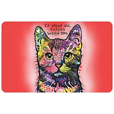 Bungalow Flooring Nine Lives Dog Mat