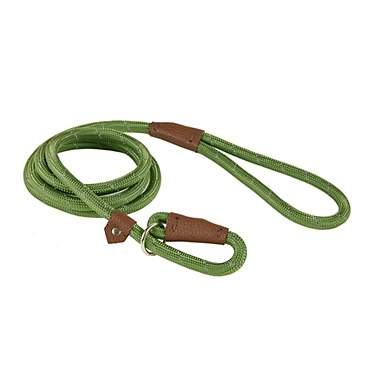 Track & Tail Green Reflective Rope Dog Leash