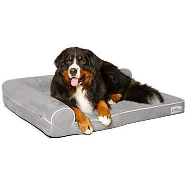 PetFusion BetterLounge Gray Dog Bed & Lounge
