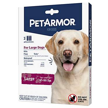 PetArmor Flea & Tick Squeeze for Dogs 45 to 88 lbs