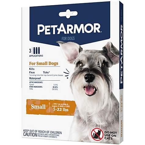 Petarmor topical flea & tick treatment for dogs