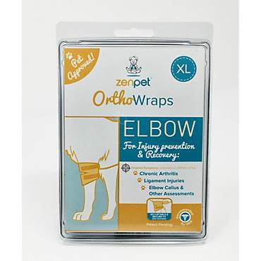 ZenPet OrthoWrap Elbow Latex-Free Supplement for Dogs