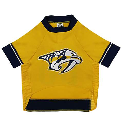 faba65e1459 Pets First Nashville Predators Dog Jersey | Petco