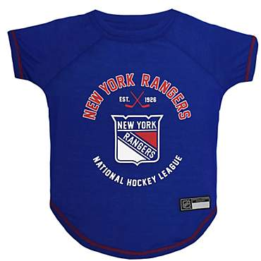 promo code a7a66 9ab43 Pets First New York Rangers Dog T-Shirt, X-Small