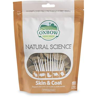 Oxbow Natural Science Skin & Coat Hay Tabs