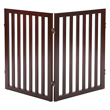 Trixie Dog Barrier Extension Two Panel Brown Gate
