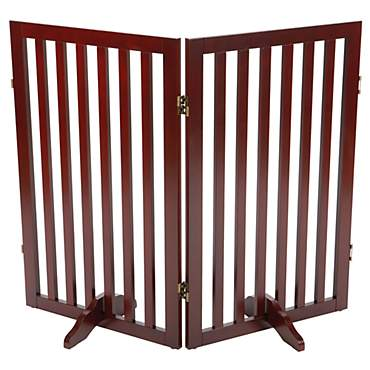 Trixie Dog Barrier Extension Two Panel Espresso Gate