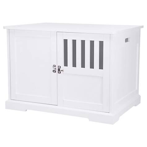 Trixie Wooden Dog House White Kennel