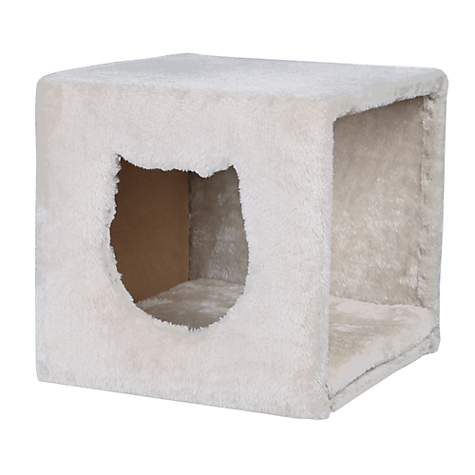 Trixie Cuddly Cave For Shelves Grey Cat Furniture | Petco