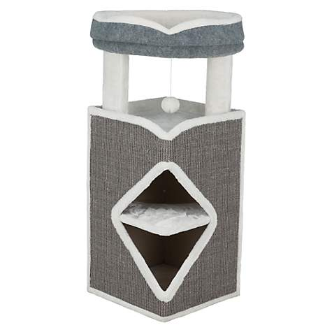 Trixie Arma Cat Tower Grey Furniture