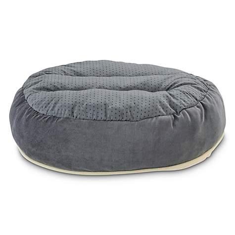 Stupendous Animaze Gray Circle Bolster Dog Bed 20 D X 6 H Evergreenethics Interior Chair Design Evergreenethicsorg