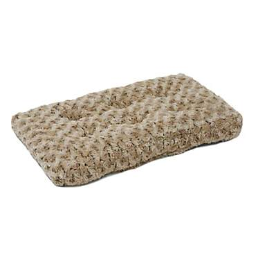 Midwest Quiet Time Ombre Taupe Dog Bed