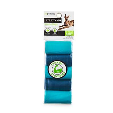 So Phresh Blue Ultra-Tough Waste Bag Refill Rolls for Dogs