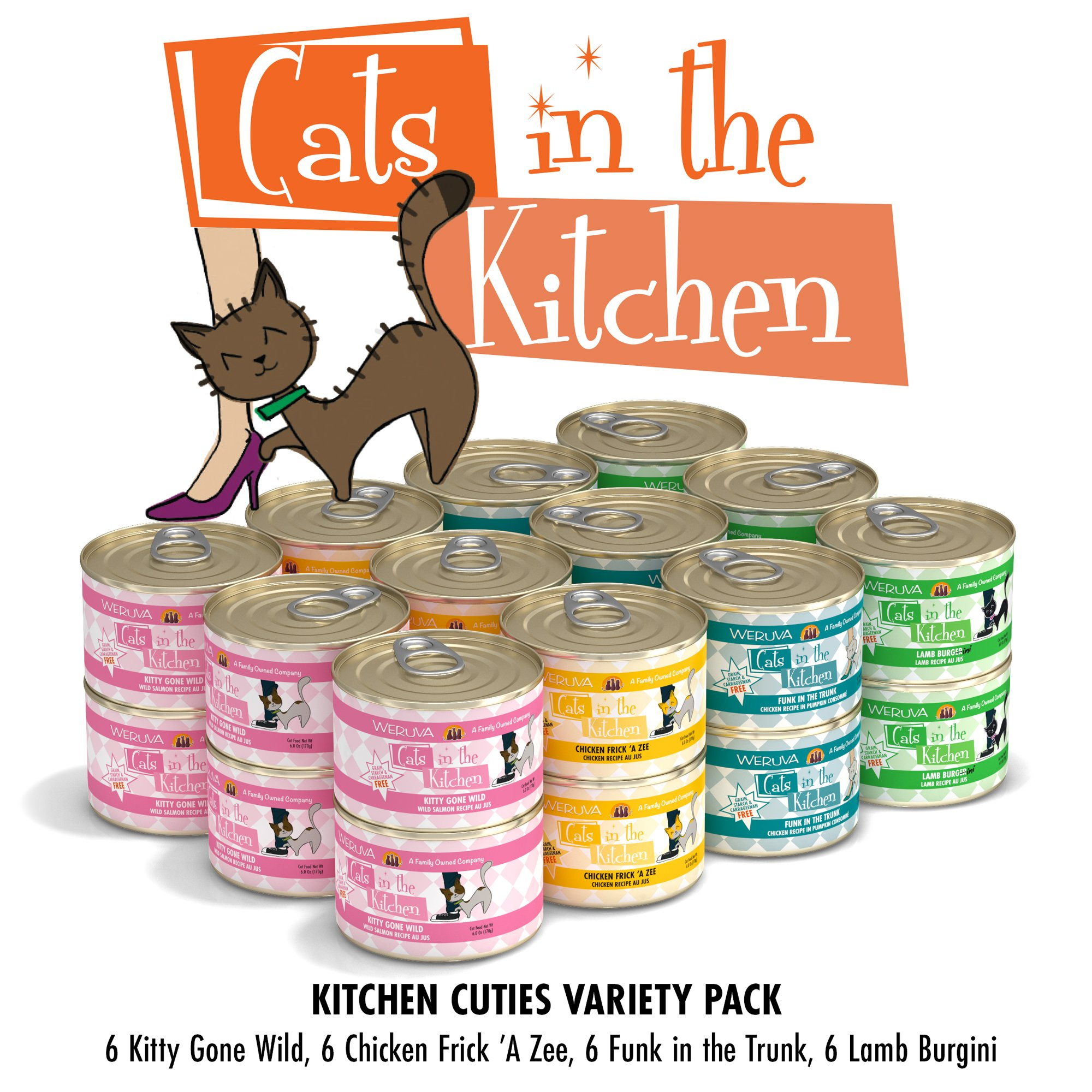 Cats In The Kitchen Kitchen Cuties Variety Pack Wet Cat Food Petco