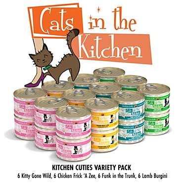 Cats in the Kitchen Kitchen Cuties Variety Pack Wet Cat Food