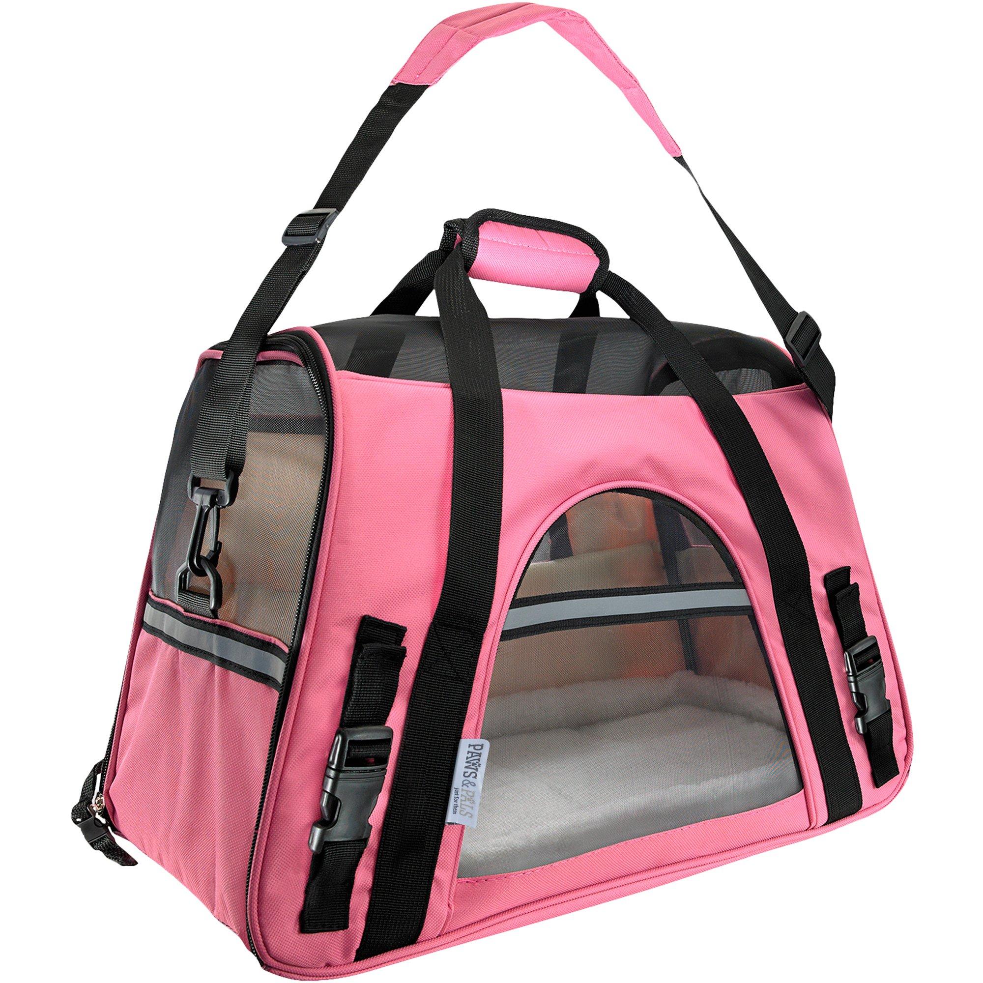 55a056713c Paws & Pals Pink Pet Carrier | Petco