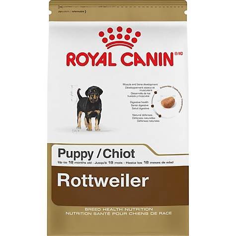 Royal Canin Breed Health Nutrition Rottweiler Puppy Dry Food Petco