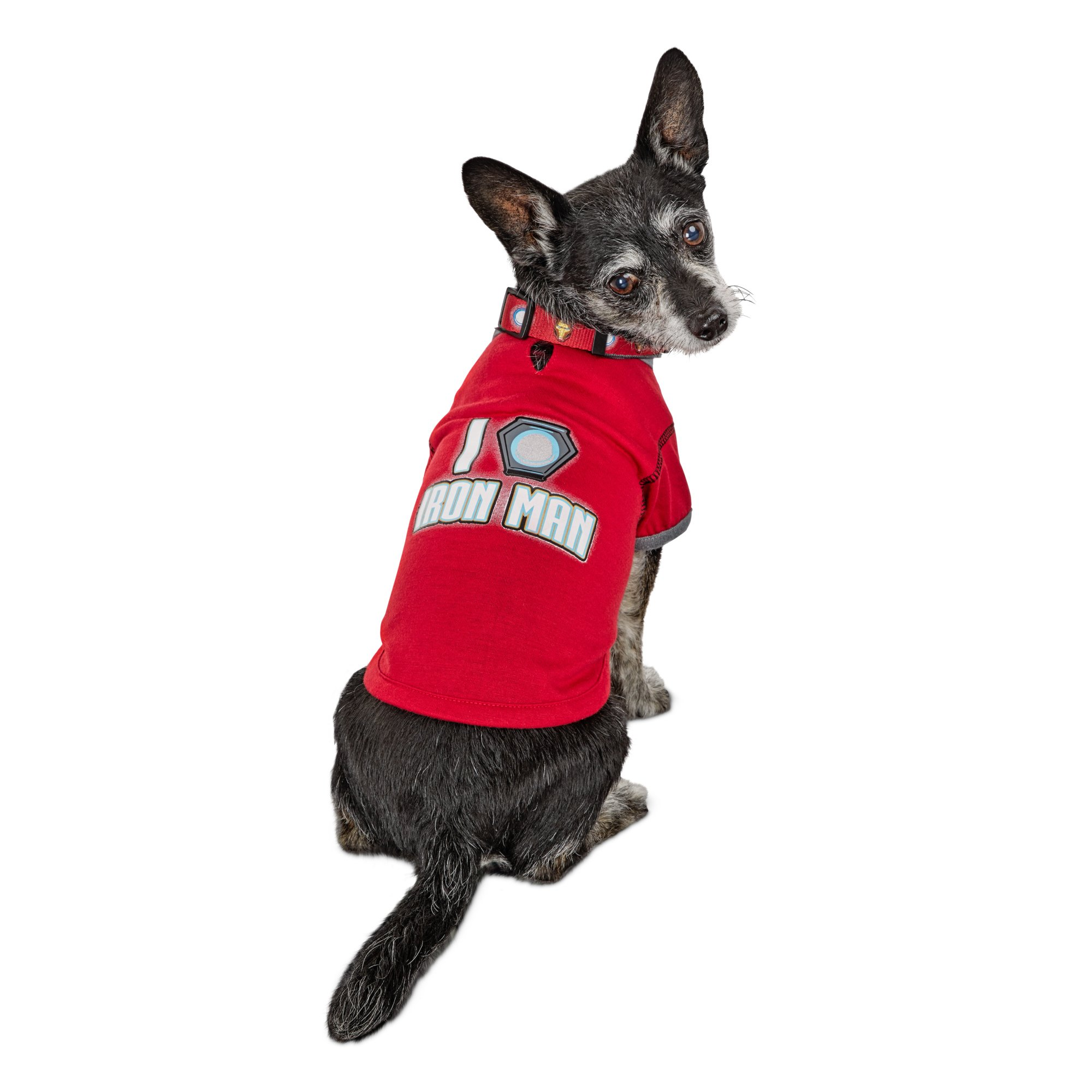 timeless design b5701 eb194 Marvel Avengers I Heart Iron Man Dog T-Shirt, X-Small | Petco