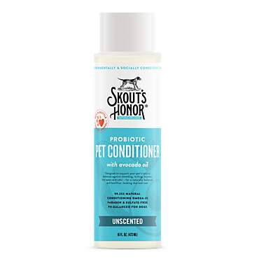 Skout's Honor Probiotic Conditioner Unscented for Dogs