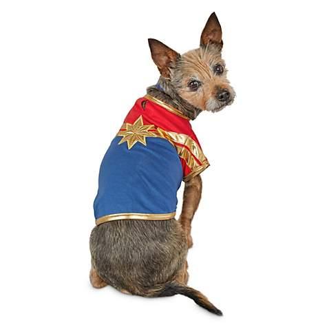 more photos 6561a 3e281 Marvel Avengers Captain Marvel Dog T-Shirt, X-Small