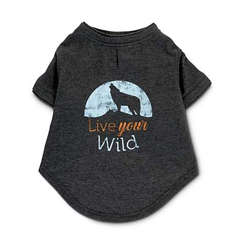 hot sale online 83506 70fa7 Reddy Live Your Wild Dog T-Shirt, X-Small