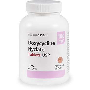 Doxycycline 100 mg Tablets
